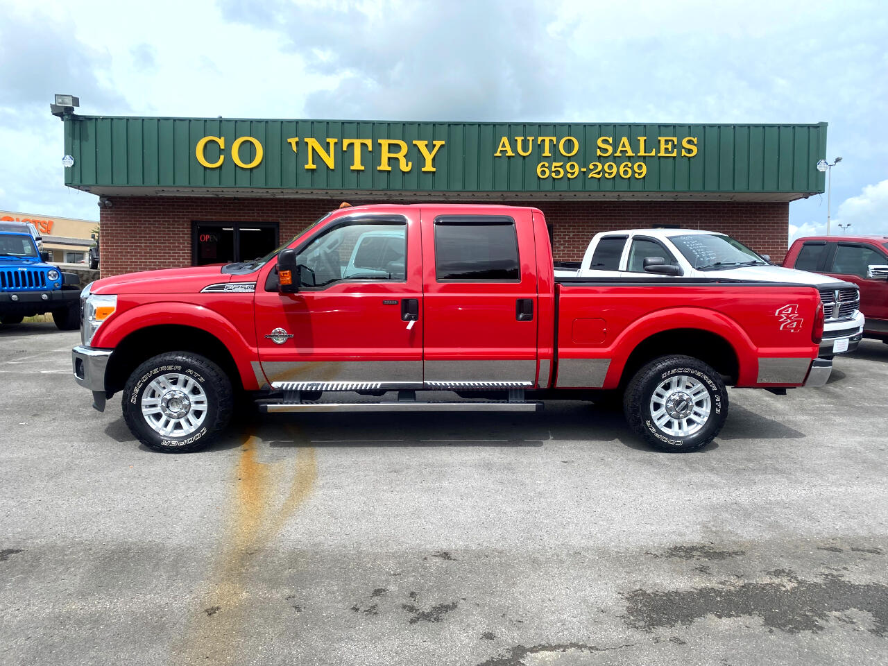 Ford F-250 SD XLT Crew Cab Short Bed 4WD 2011