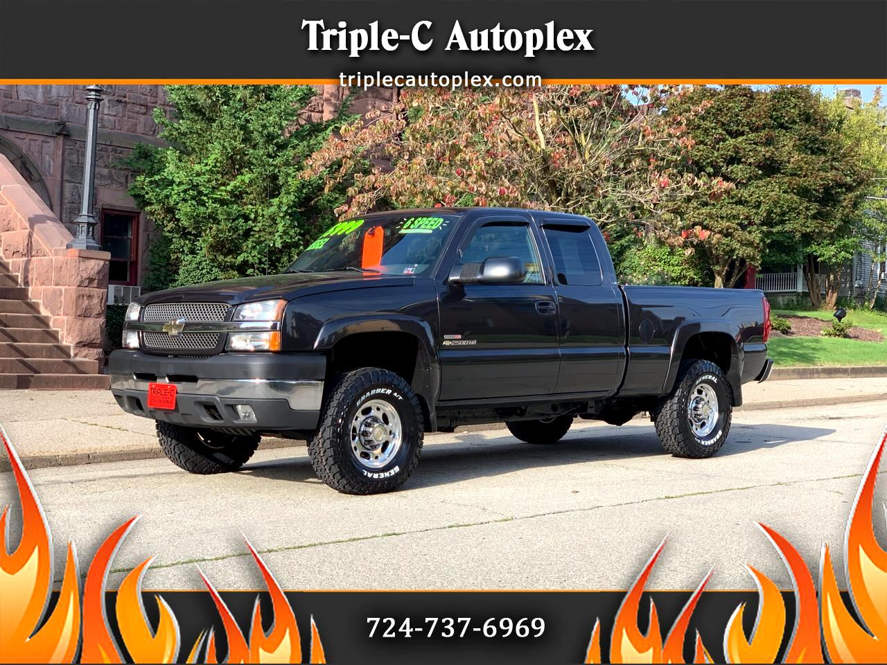 Used 2003 Chevrolet Silverado 2500hd Ls Ext Cab 4wd For