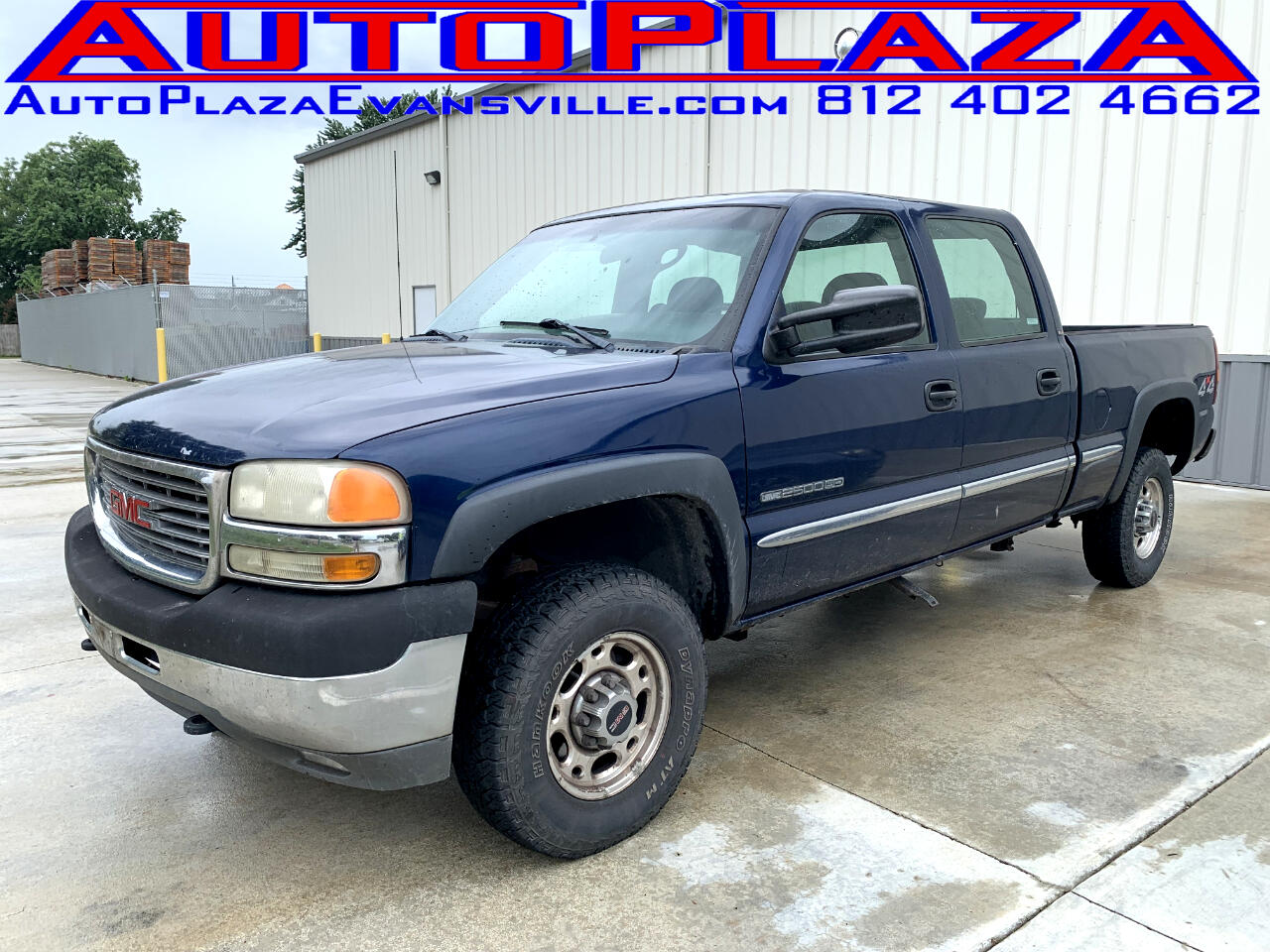2001 GMC Sierra 2500HD SL Crew Cab Short Bed 4WD