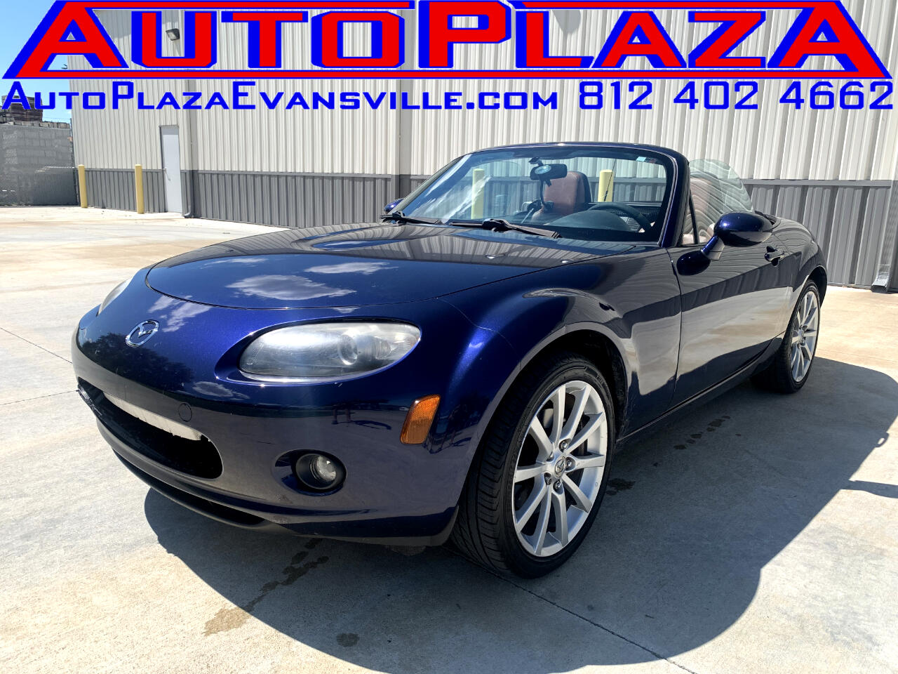 Mazda MX-5 Miata Grand Touring 2008