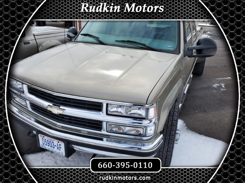 Chevrolet C/K 3500 Crew Cab Long Bed 4WD 2000