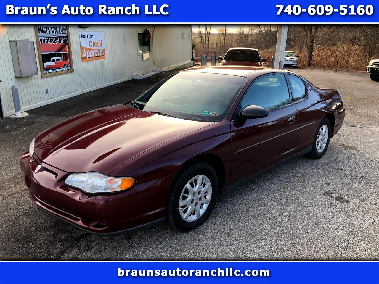 Chevrolet Monte Carlo LS 2000