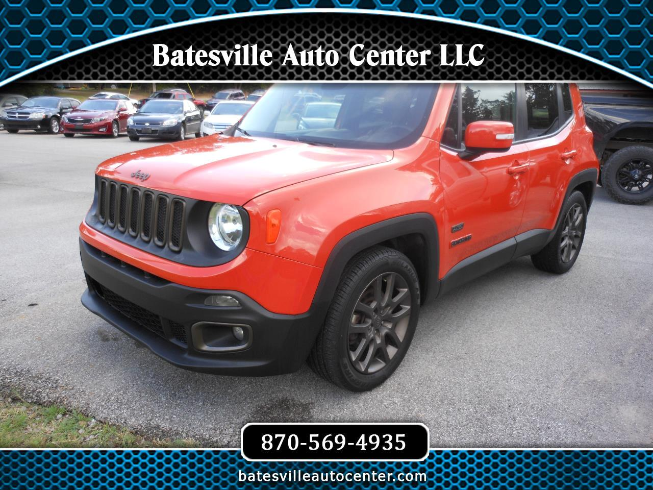 Jeep Renegade FWD 4dr 75th Anniversary 2016