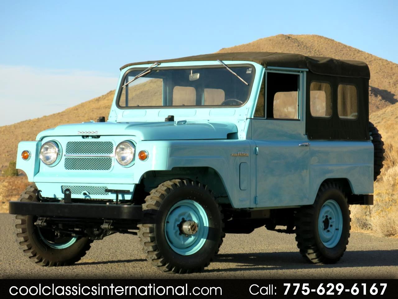 1967 Nissan Patrol 60