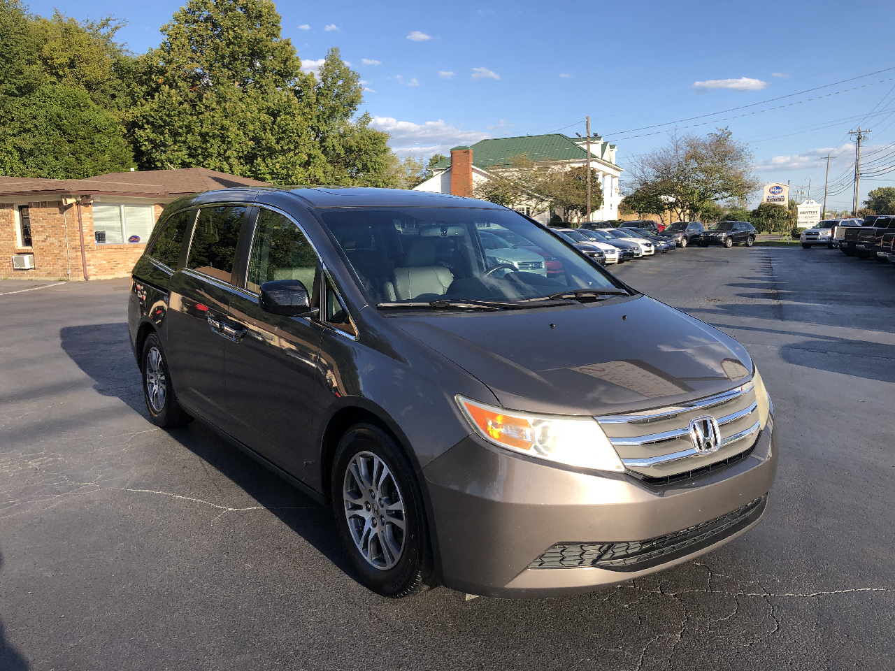 Honda Odyssey 5dr EX-L w/Navigation/Leather 2012