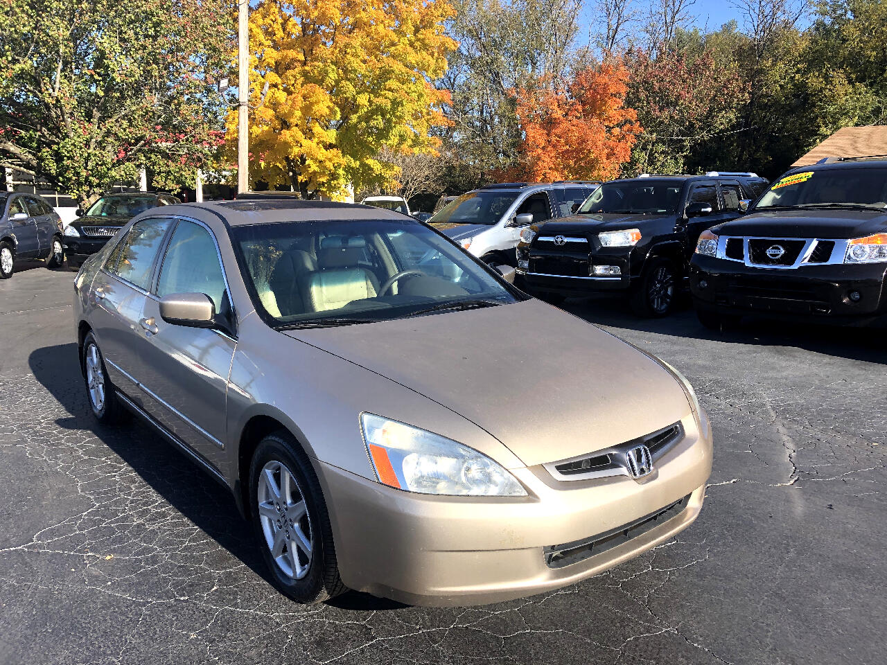 Honda Accord Sdn EX Auto V6 w/Leather/XM 2004