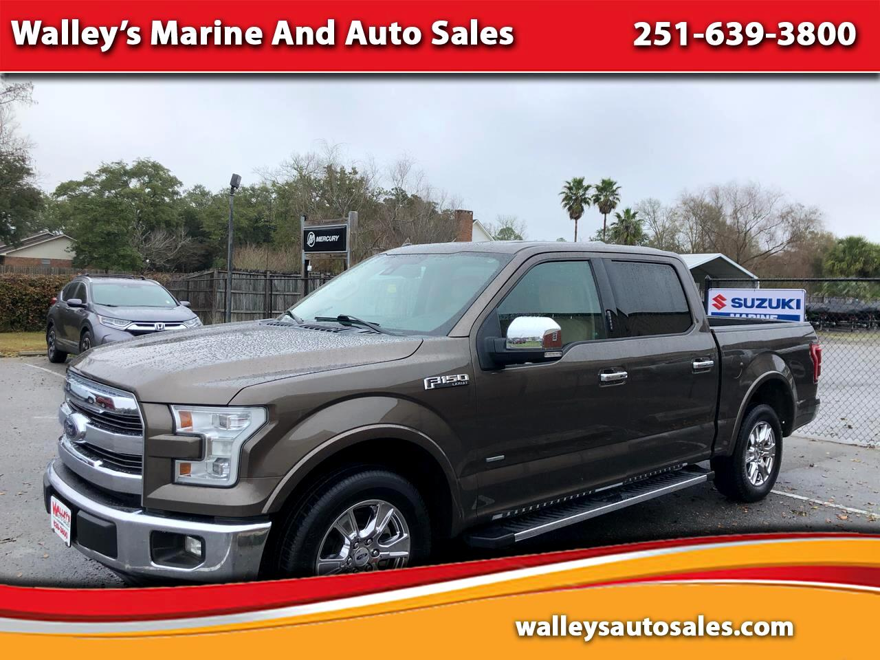 """Ford F-150 4WD SuperCab 145"""" Lariat 2015"""