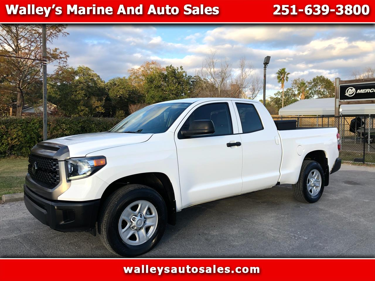 Toyota Tundra 2WD SR5 Double Cab 6.5' Bed 4.6L (Natl) 2018