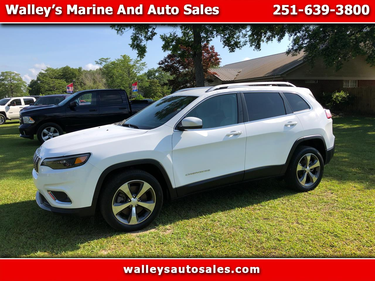 Jeep Cherokee 4dr Limited 2020