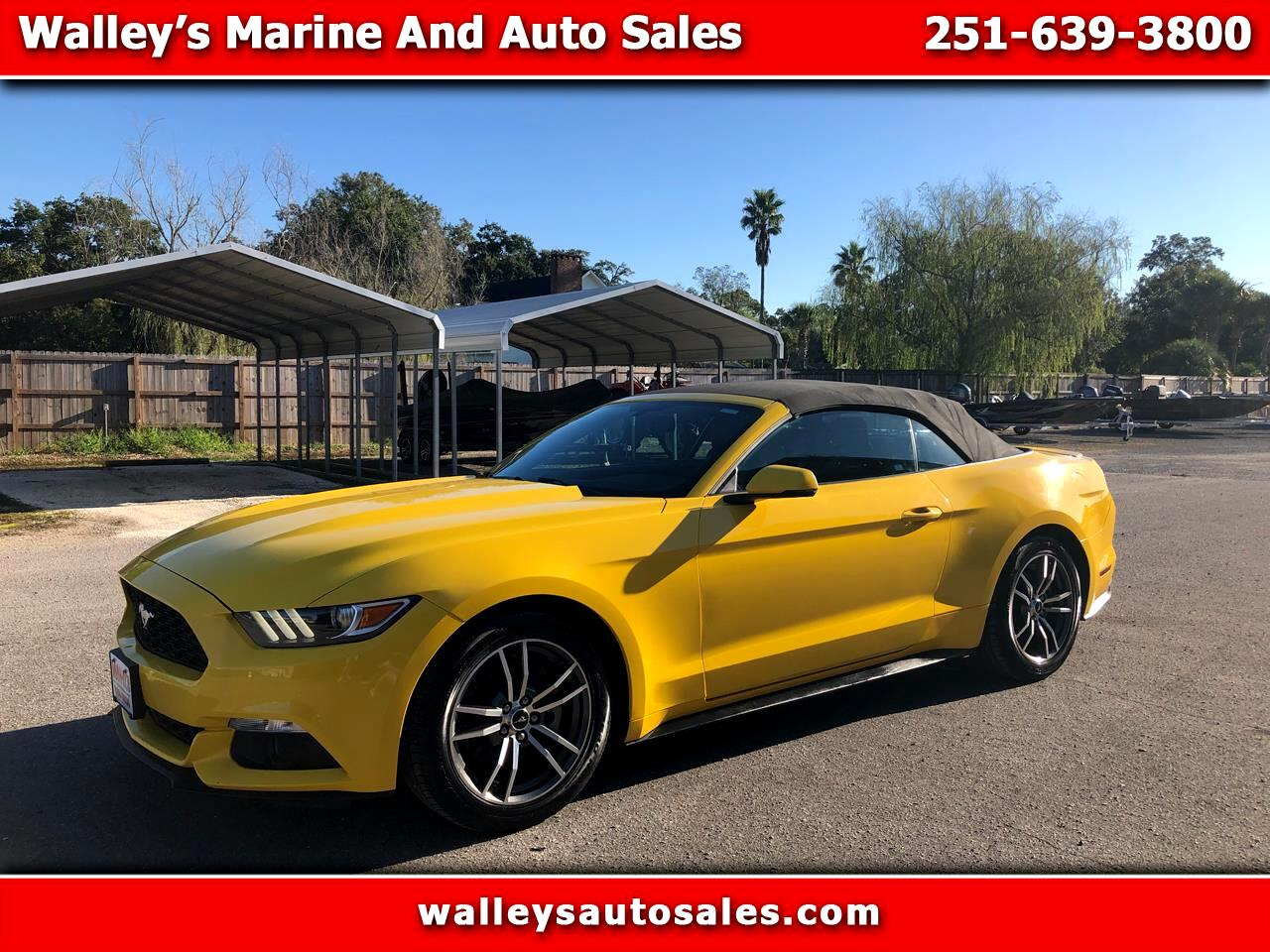Ford Mustang 2dr Conv Deluxe 2017