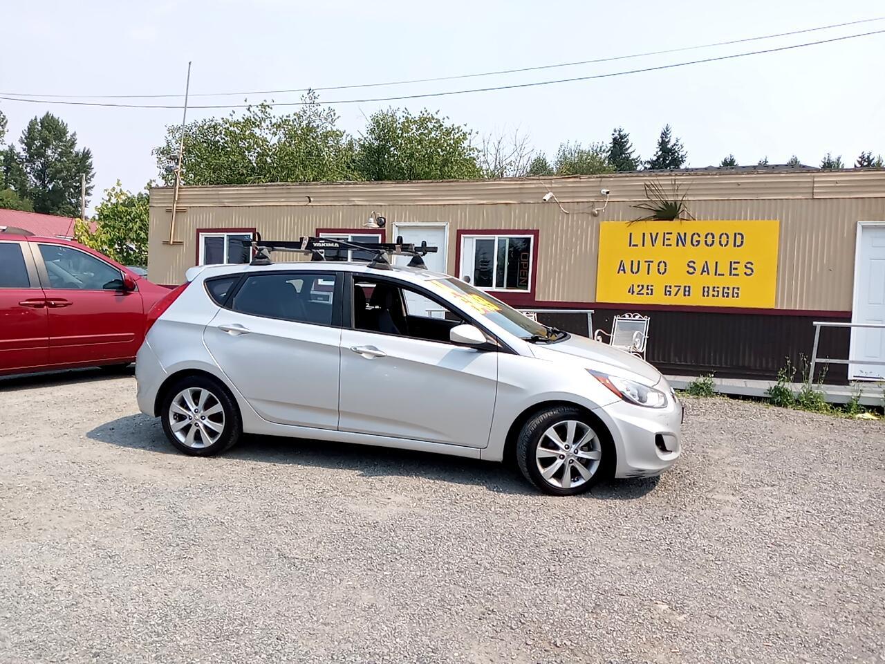 Hyundai Accent 5dr HB Auto GLS 2012