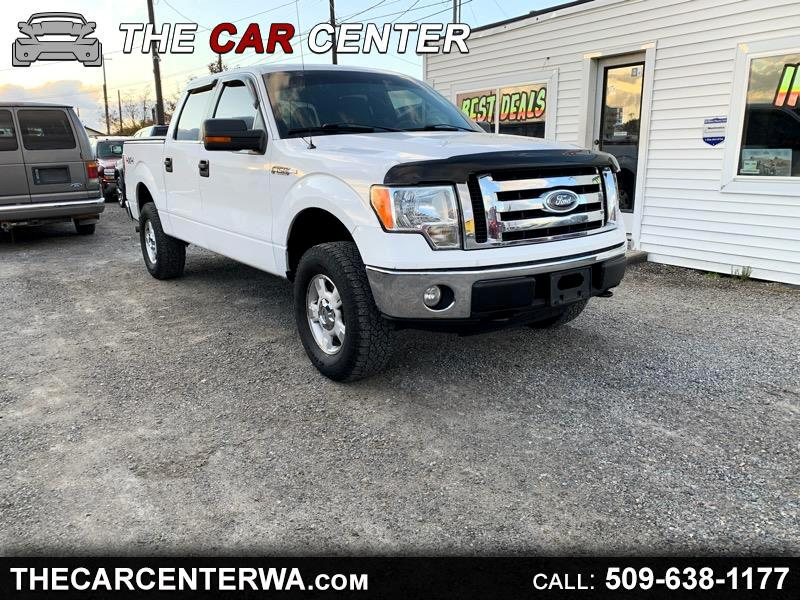 """Ford F-150 117"""" WB 4WD 2010"""