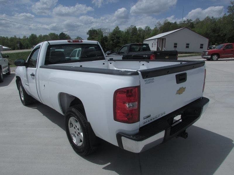 Chevrolet Silverado 1500 Work Truck Long Box 4WD 2012