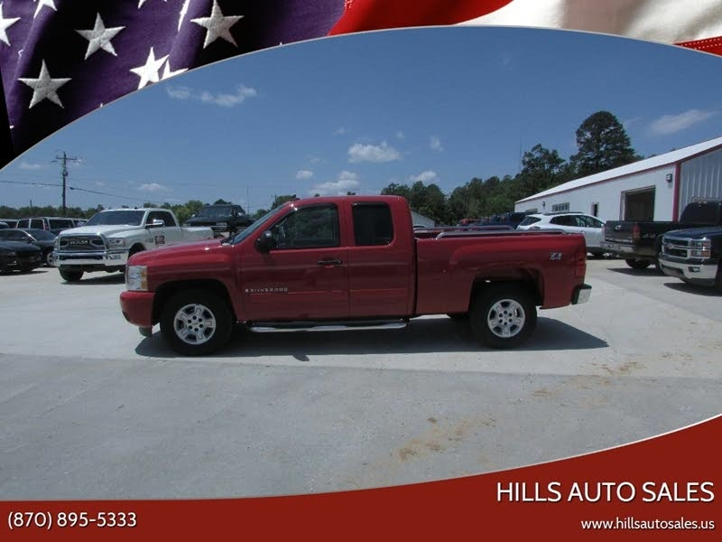 Chevrolet Silverado 1500 Work Truck Ext. Cab Short Box 4WD 2007