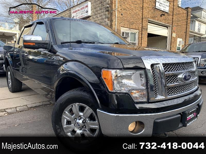 """Ford F-150 4WD SuperCab 133"""" Lariat 2012"""