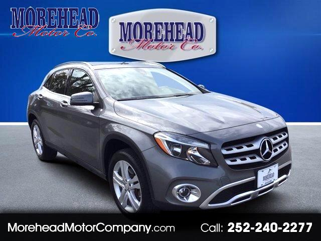 Mercedes-Benz GLA GLA 250 4MATIC SUV 2018