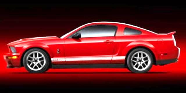 Ford Mustang 2dr Cpe Shelby GT500 2007