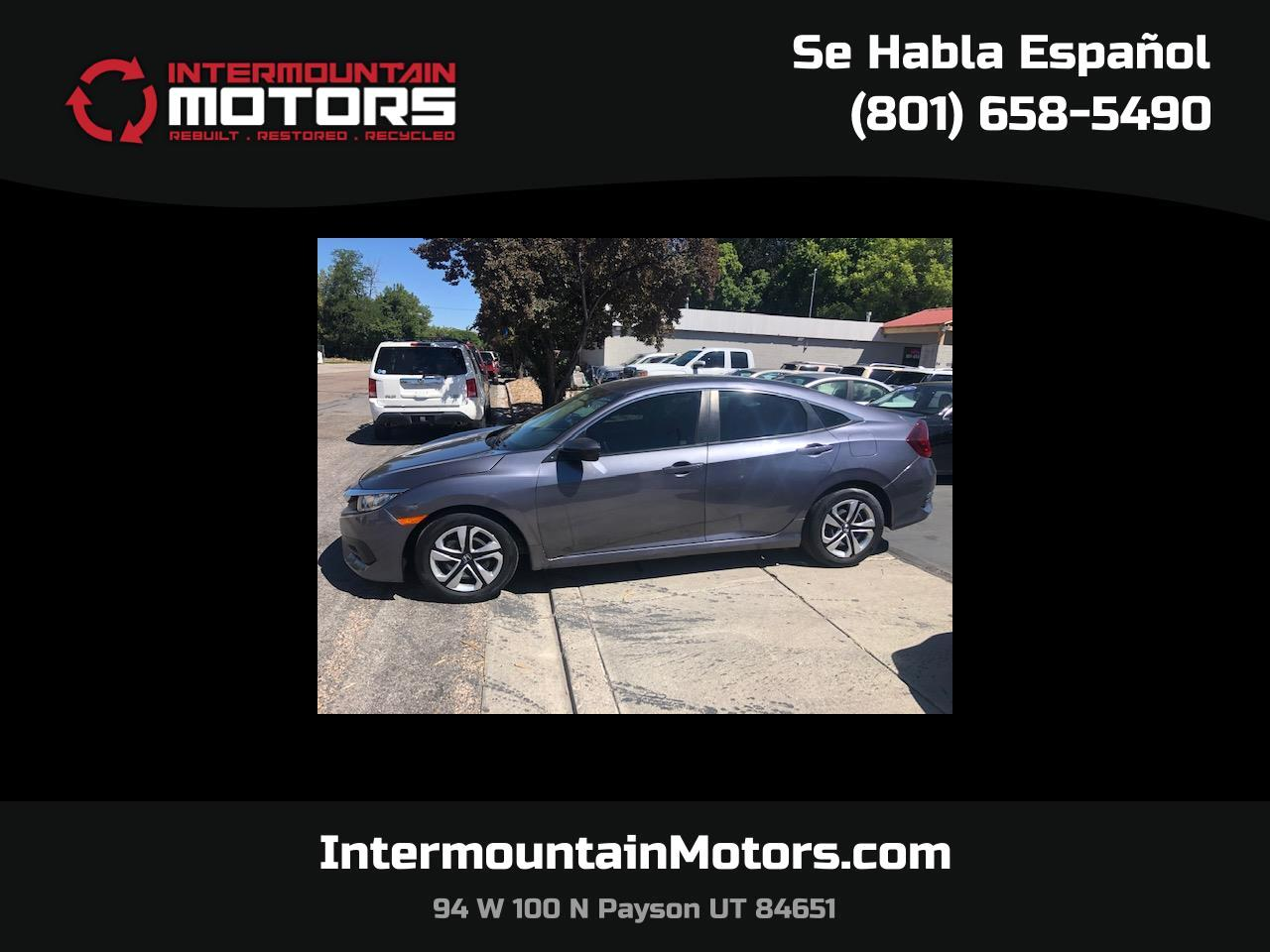 Honda Civic LX Sedan 6MT 2016