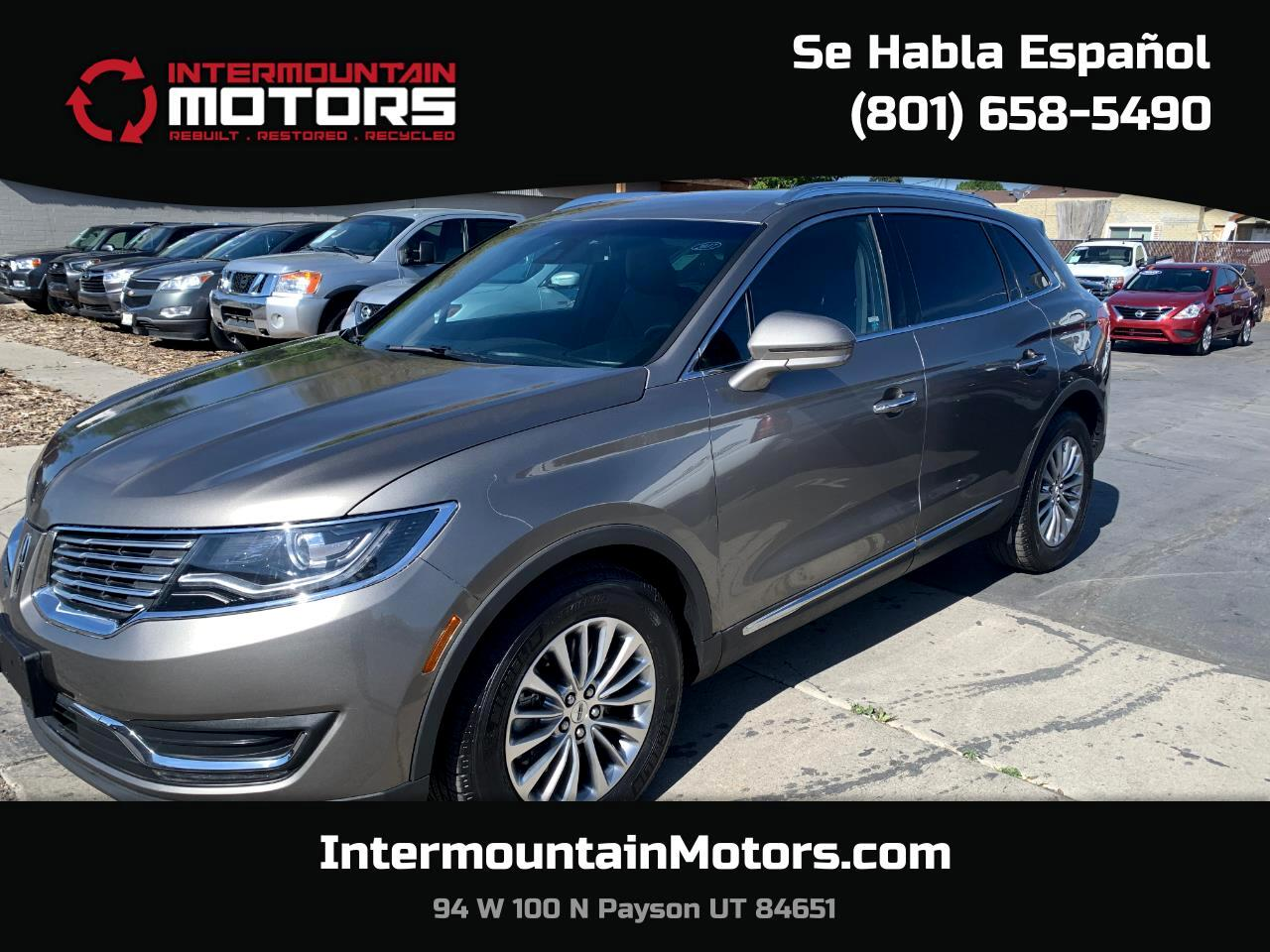 Lincoln MKX Select AWD 2017