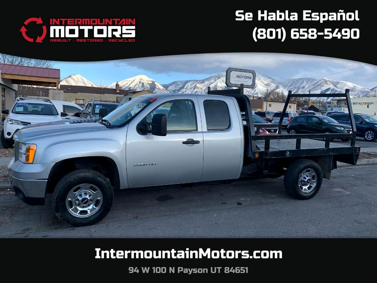 GMC Sierra 2500HD Work Truck Ext. Cab 4WD 2013