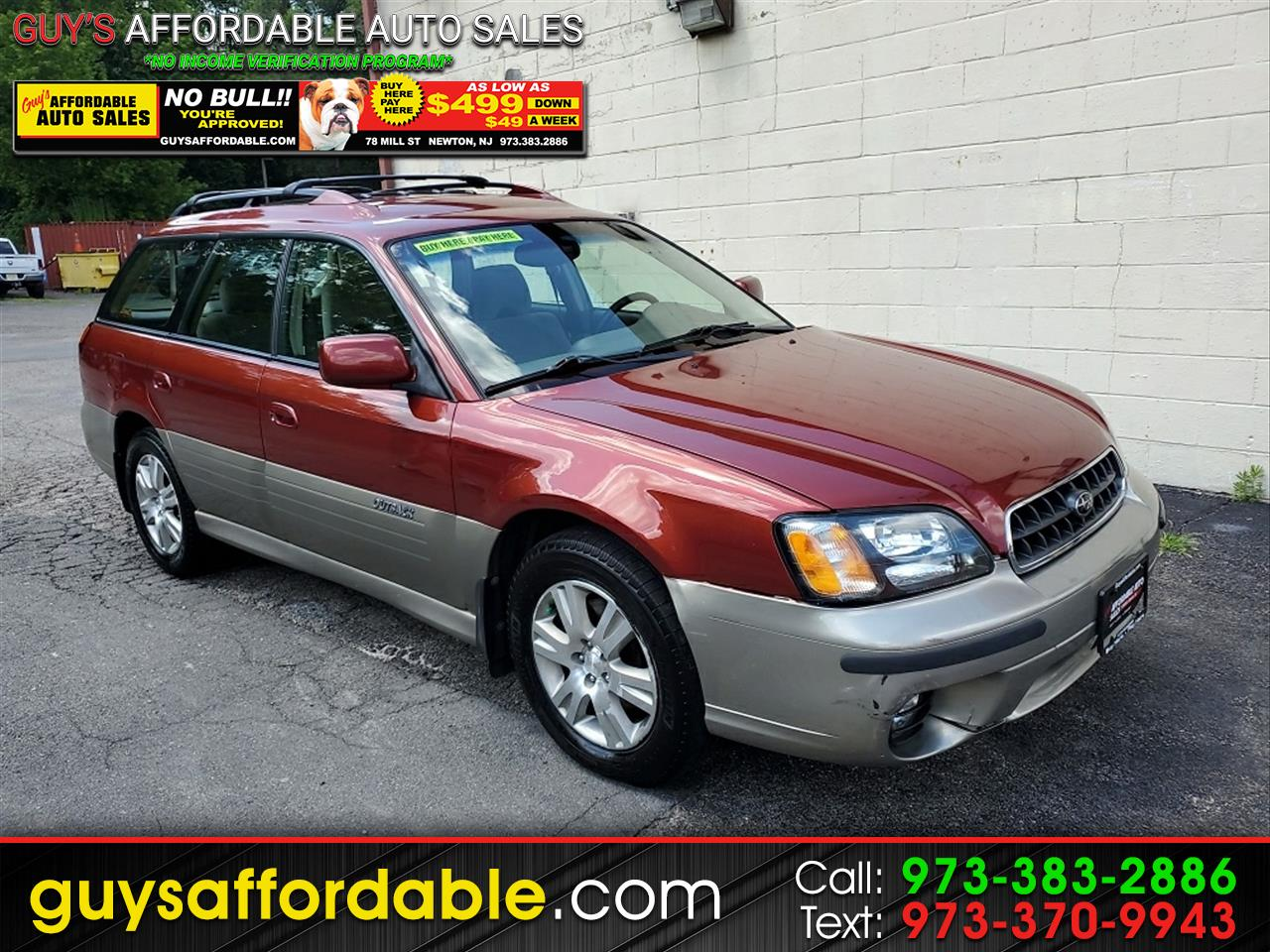 Subaru Outback H6-3.0 35th Anniversary Edition Wagon 2004