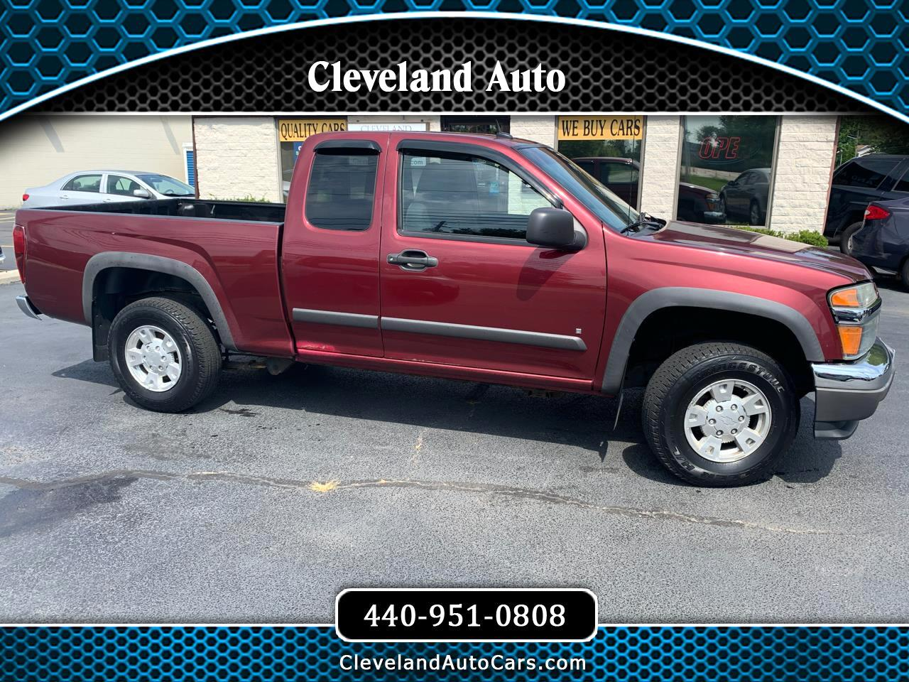 "Chevrolet Colorado 4WD Ext Cab 125.9"" LT w/1LT 2008"