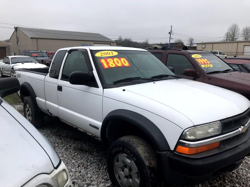 Chevrolet S10 Pickup Ext. Cab 4WD 2001