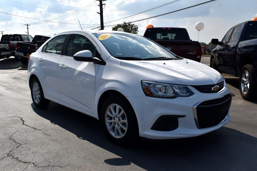 2018 Chevrolet Sonic LT Manual Sedan