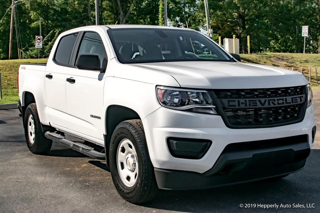 Chevrolet Colorado Work Truck Crew Cab 4WD Long Box 2019