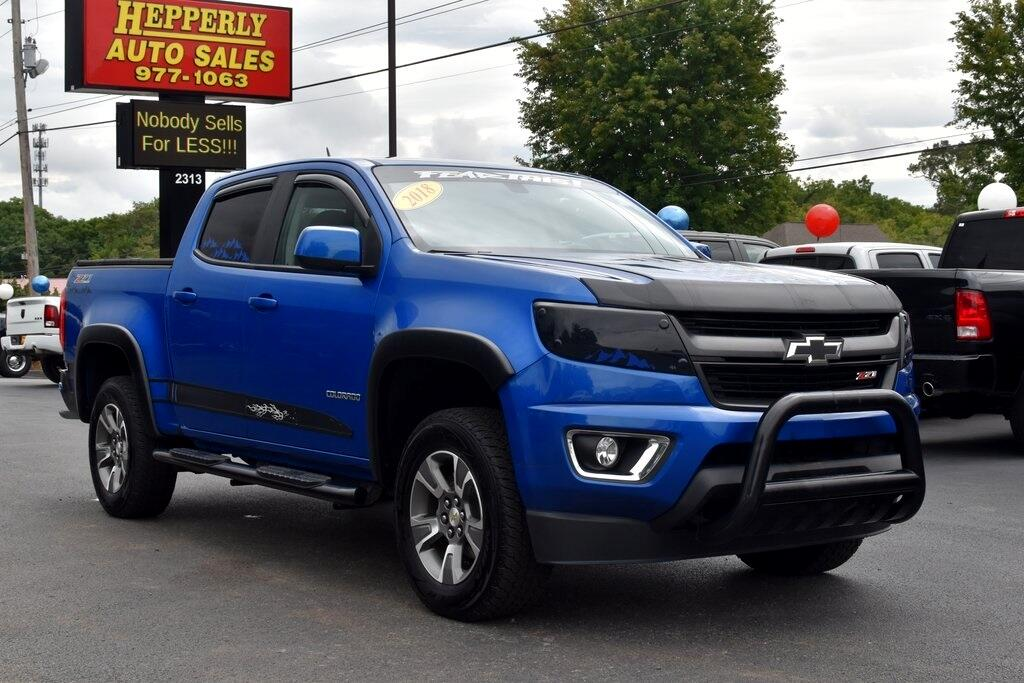 Chevrolet Colorado Z71 Crew Cab 4WD Long Box 2018