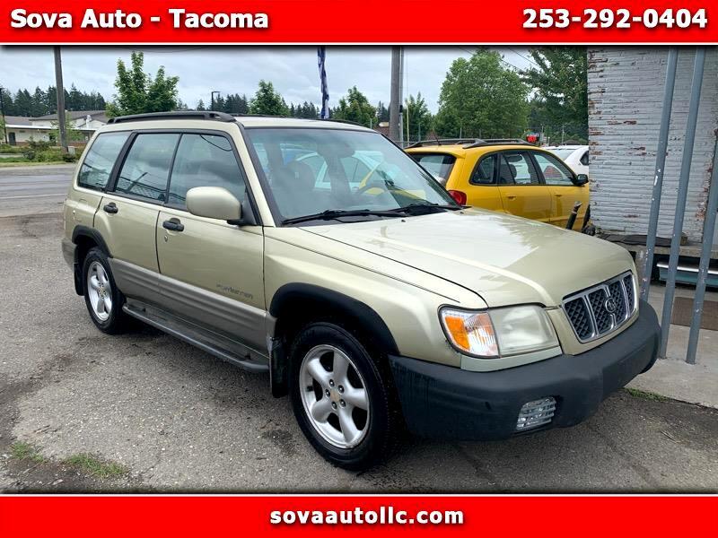 used 2001 subaru forester s for sale in tacoma wa 98409 sova auto tacoma sova auto llc