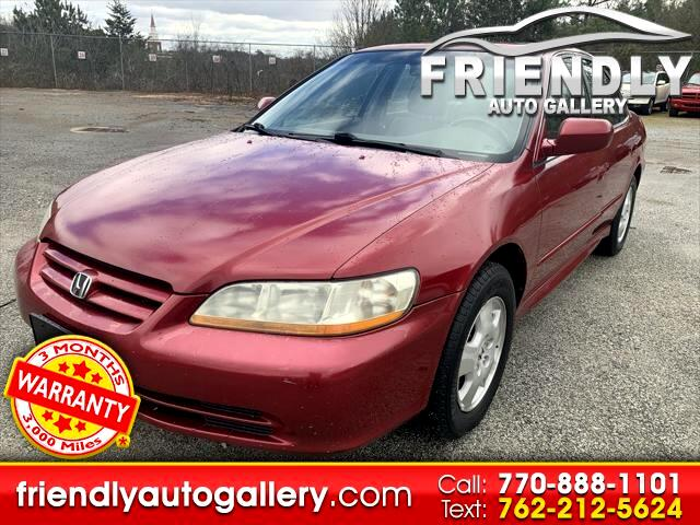Honda Accord Sdn EX Auto V6 w/Leather 2002