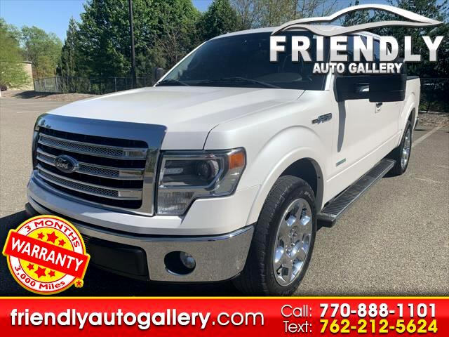 "Ford F-150 2WD SuperCrew 139"" Lariat 2013"