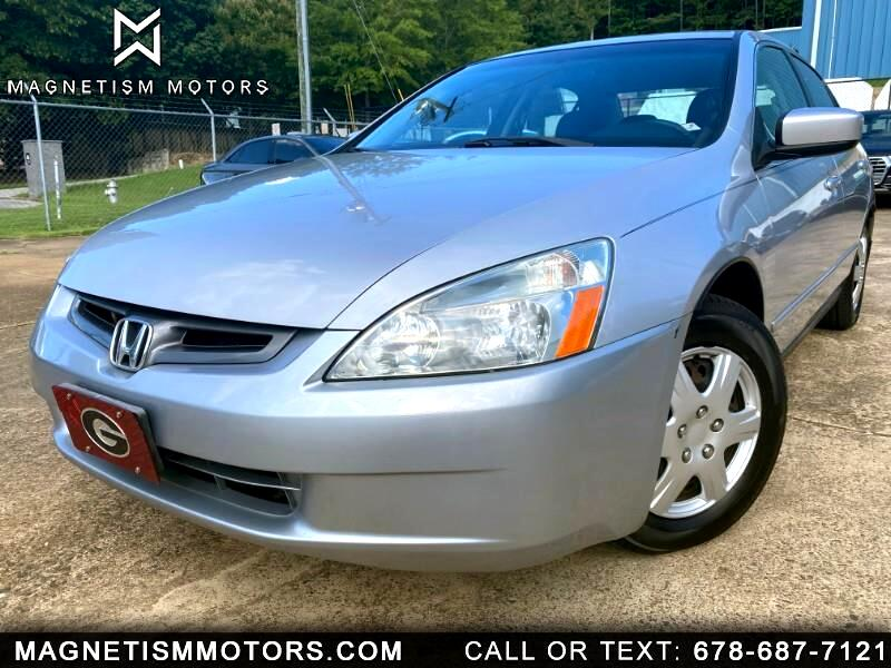 Honda Accord LX sedan AT 2005