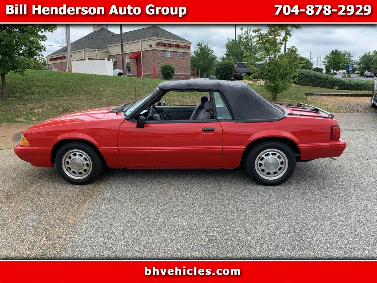 Ford Mustang LX convertible 1993