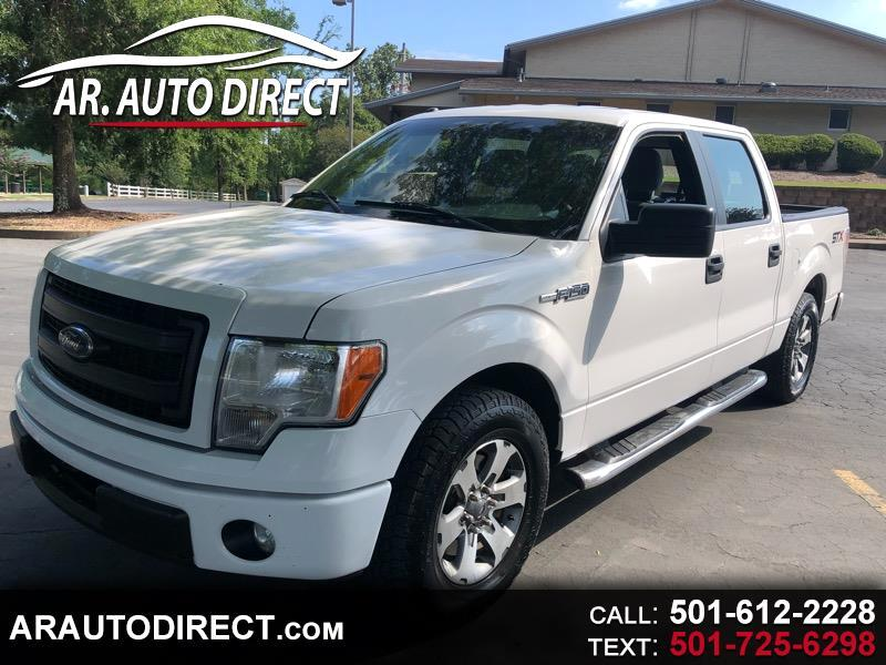 "Ford F-150 2WD SuperCrew 145"" STX 2014"