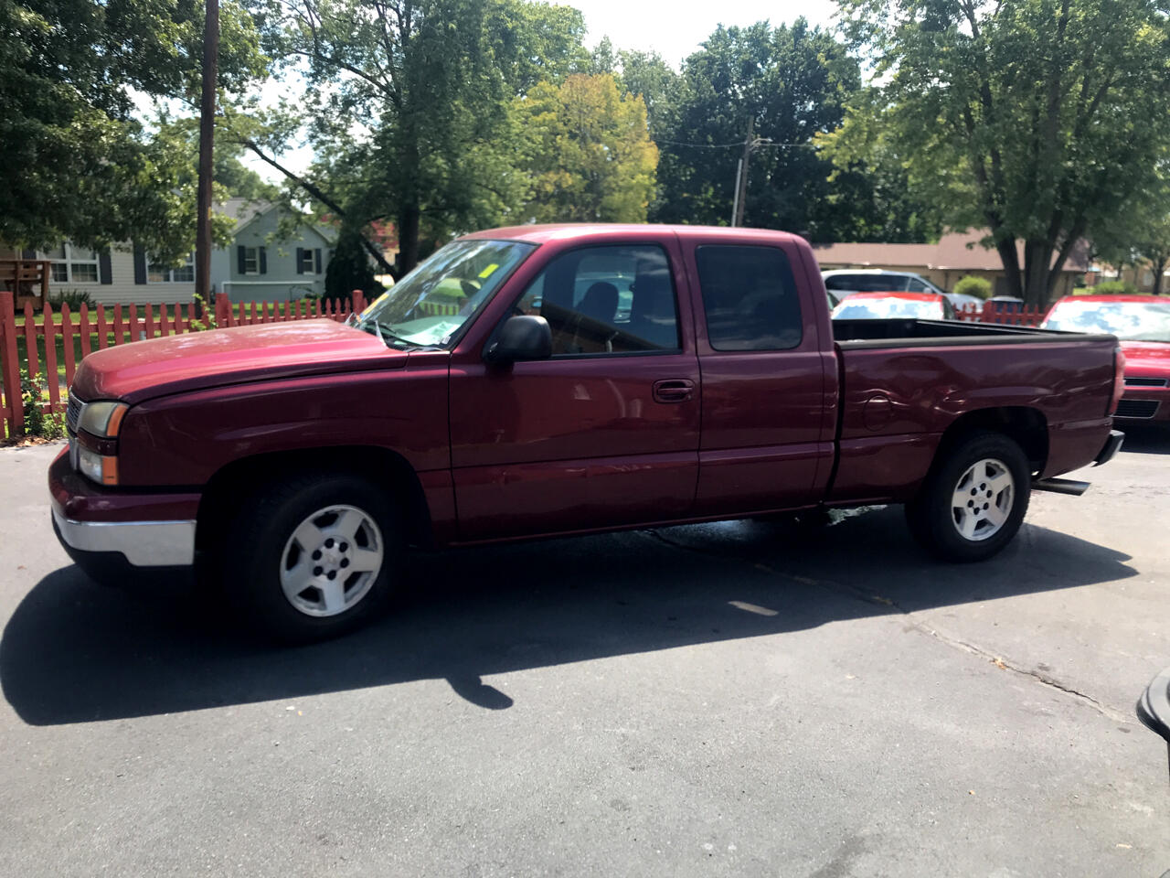 Chevrolet Silverado 1500 Work Truck Ext. Cab Long Bed 2WD 2006