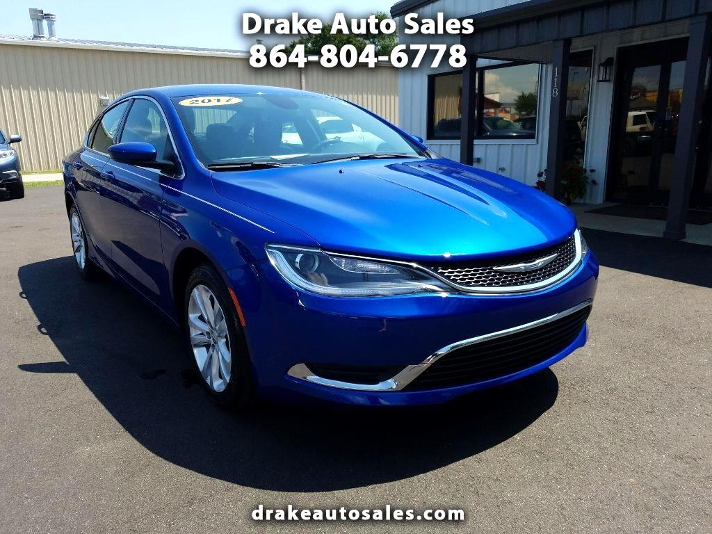 Drake Auto Sales >> Used 2017 Chrysler 200 Limited Platinum For Sale In Boiling
