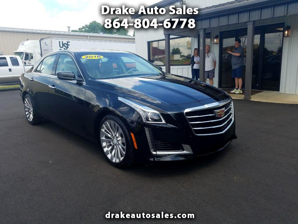 Drake Auto Sales >> Used 2016 Cadillac Cts 2 0l Turbo Luxury Rwd For Sale In