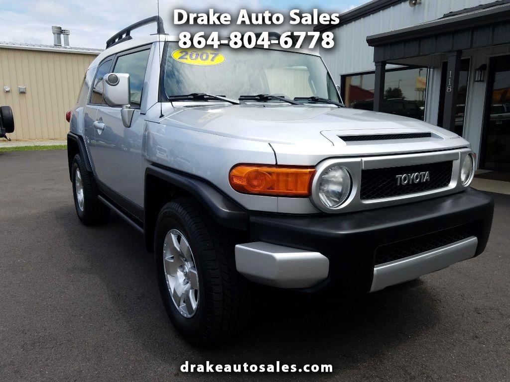 Drake Auto Sales >> Used 2007 Toyota Fj Cruiser In Boiling Springs Sc Near 29316 Jtebu11f670089147 Auto Com