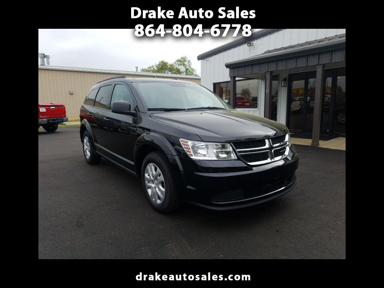 Drake Auto Sales >> Used 2017 Dodge Journey Se For Sale In Boiling Springs Sc