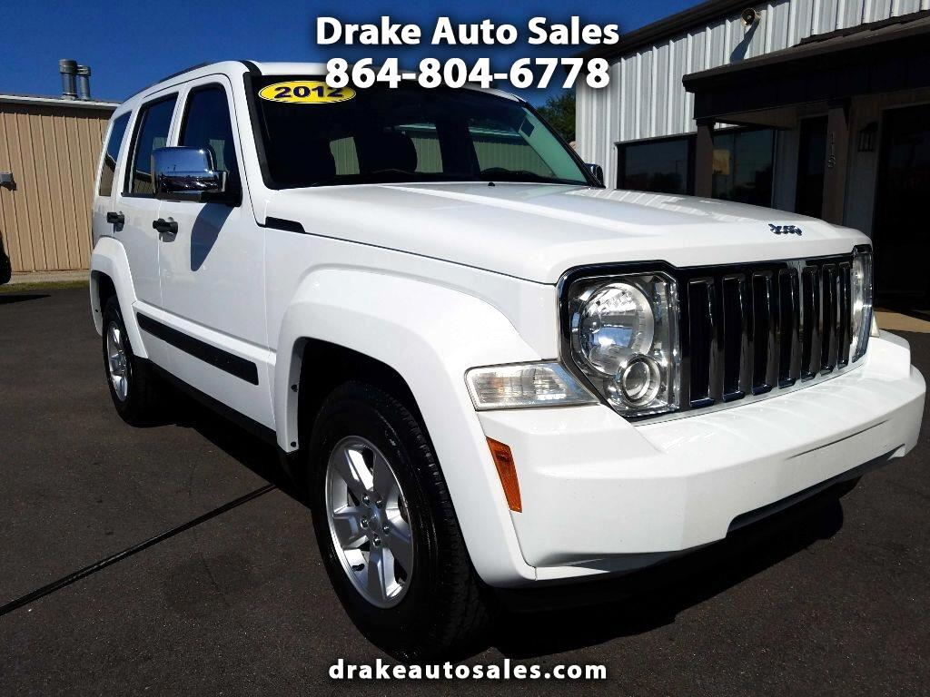 Jeep Liberty RWD 4dr Sport 2012