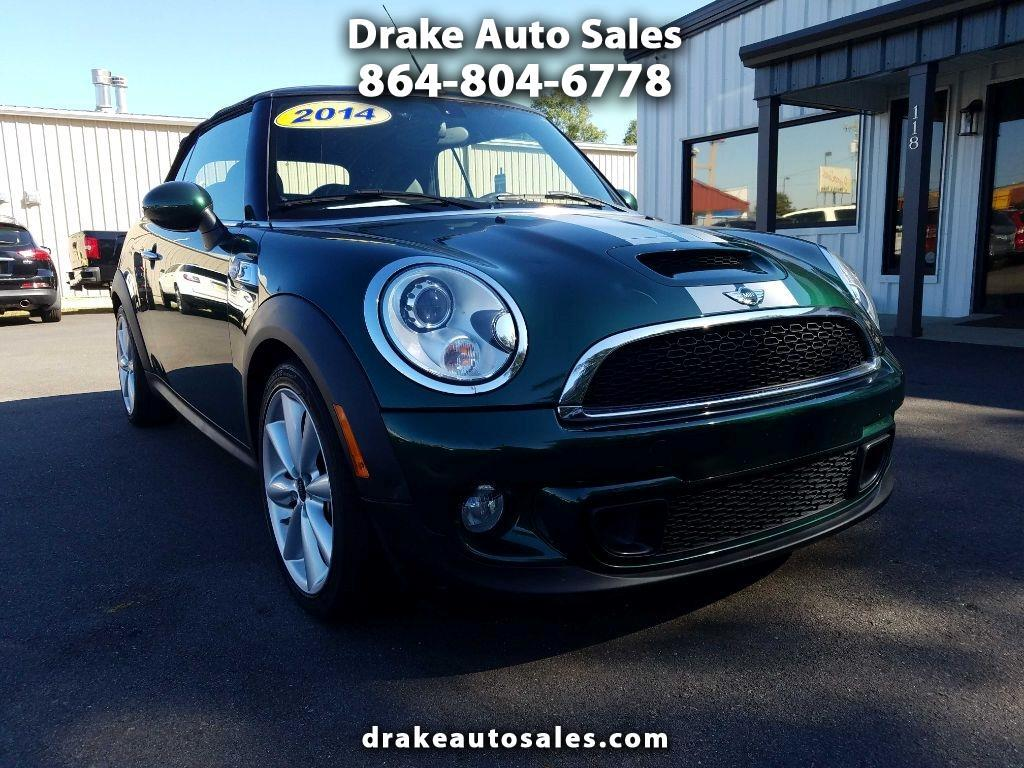 MINI Cooper Convertible 2dr S 2014
