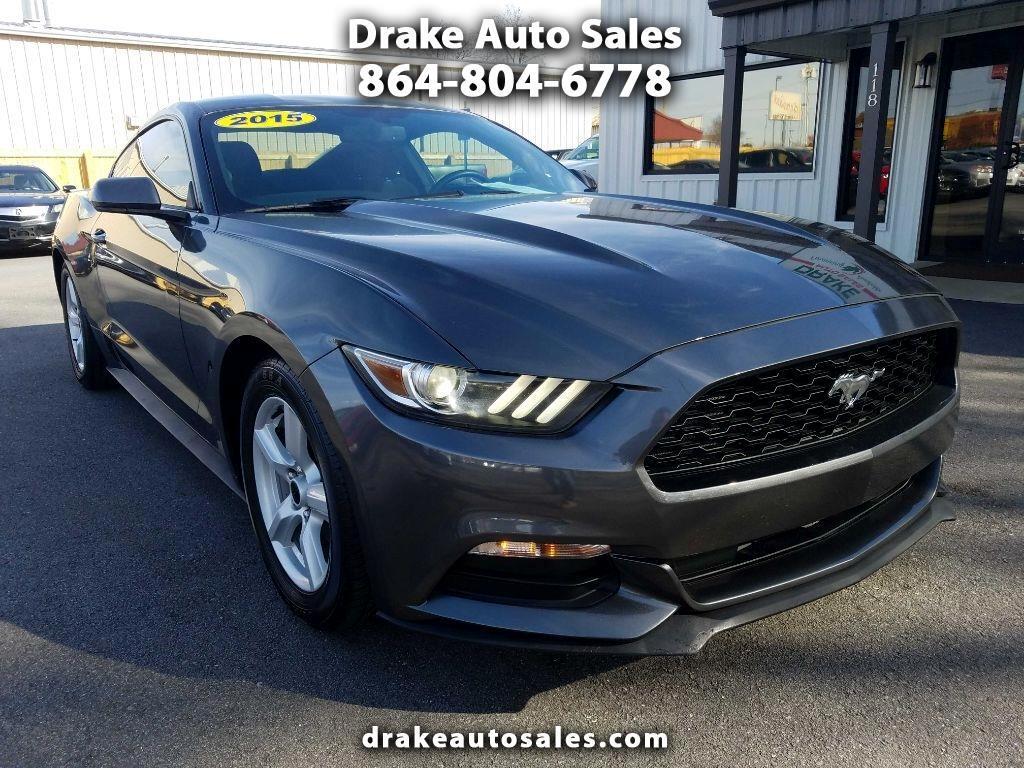 Ford Mustang 2dr Fastback V6 2015