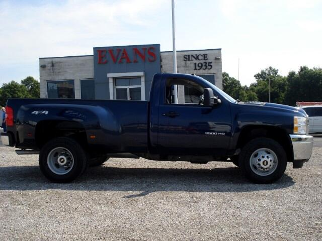 2011 Chevrolet Silverado 3500HD LONG BED REG CAB 4X4 DUALLY
