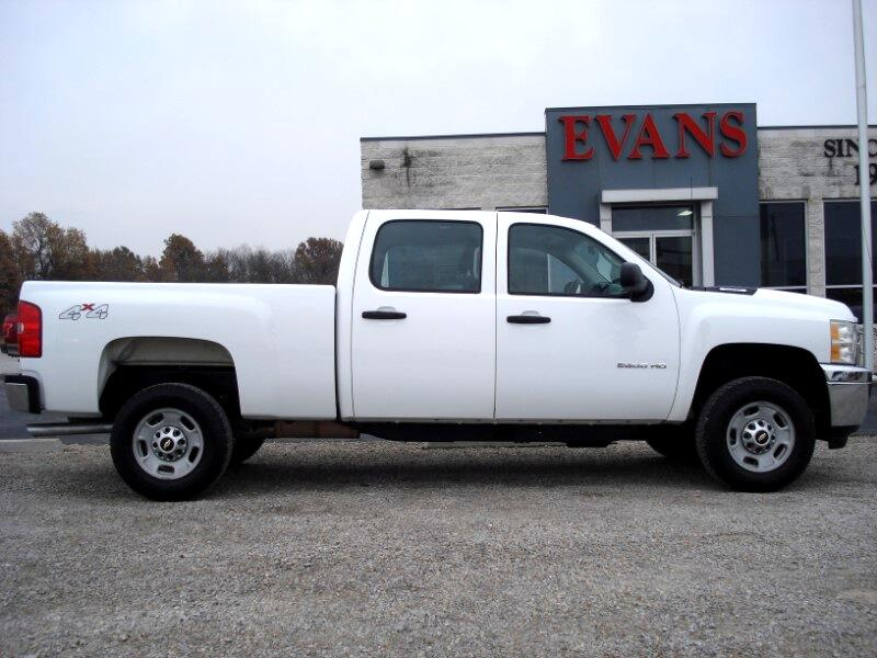 2011 Chevrolet Silverado 2500HD Crew Cab Short Bed 4WD