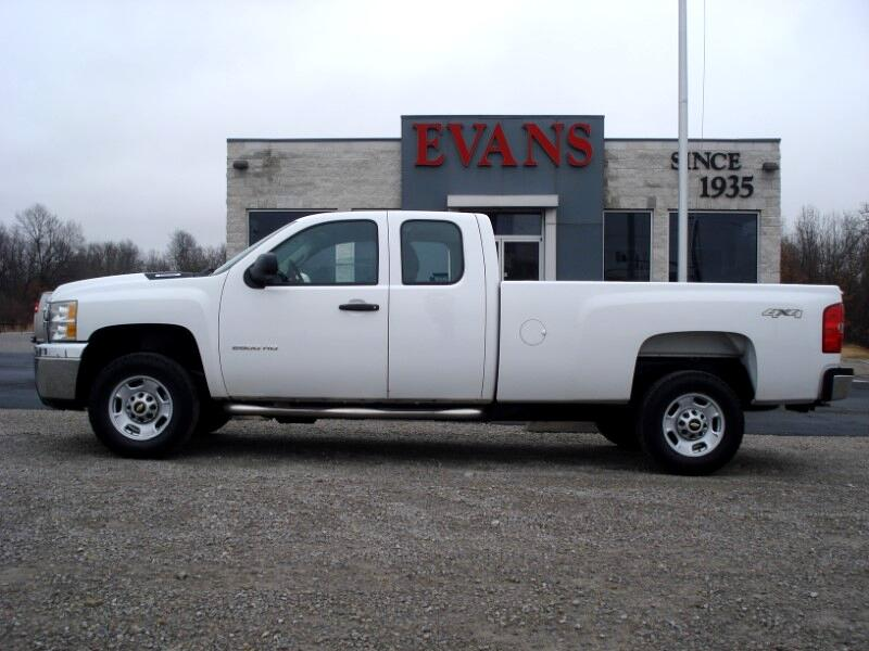 2012 Chevrolet Silverado 2500HD Work Truck Ext. Cab Long Box 4WD