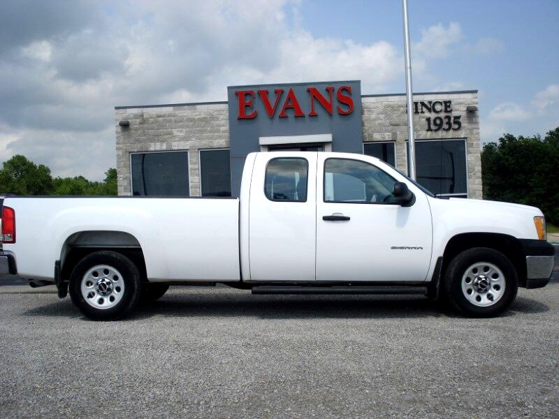 2012 GMC Sierra 1500 EXTENDED CAB 4DR 2WD LONG BED