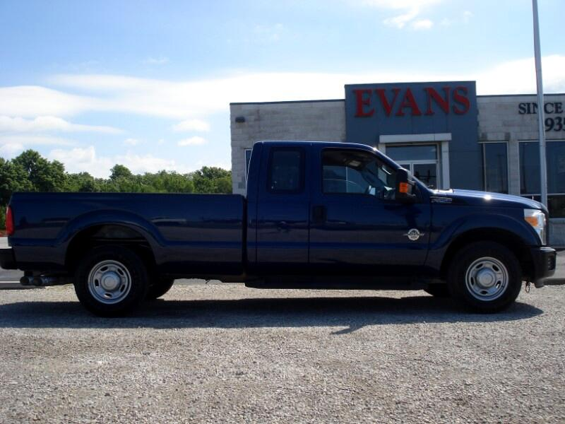 2011 Ford F-250 SD DIESEL XL SUPER-CAB LONG BED 2WD