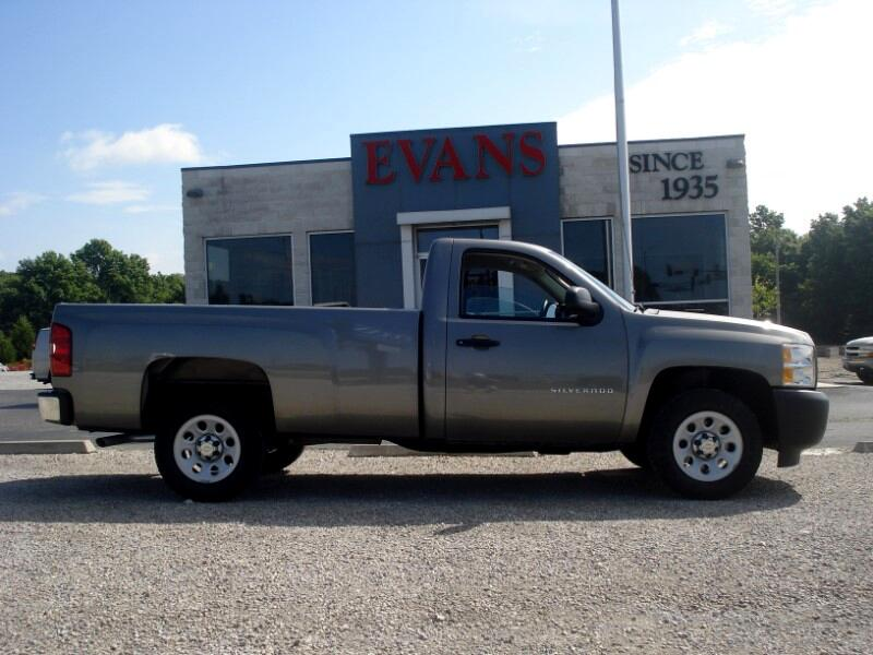 2012 Chevrolet Silverado 1500 LONG BED REGULAR CAB 2WD